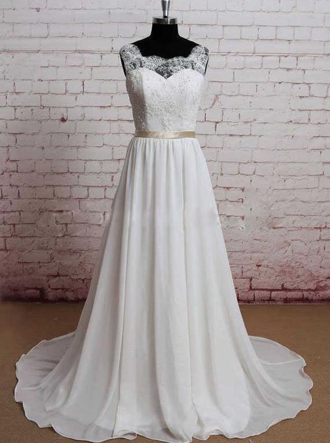 Elegant Wedding Dresses,Boho Wedding Dress,11577