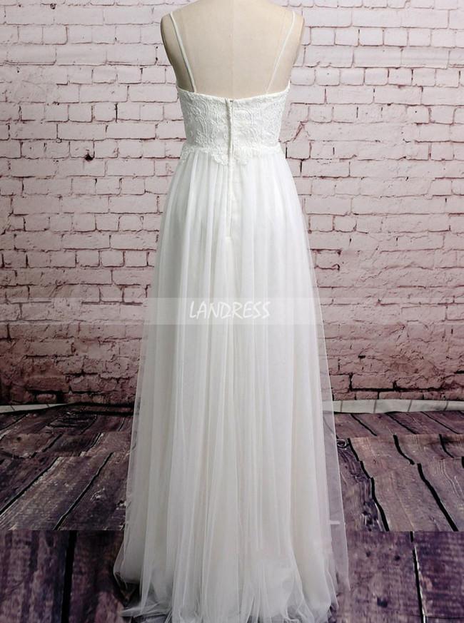 Maternity Long Wedding Dresses,Empire Boho Wedding Dress,11587