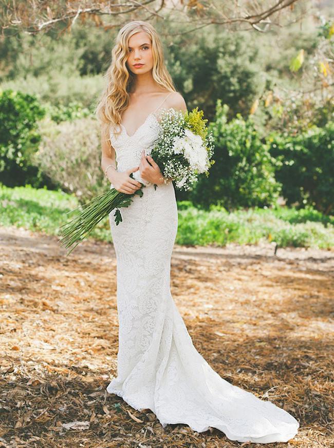 Mermaid Wedding Dresses,Open Back Wedding Dress,11656