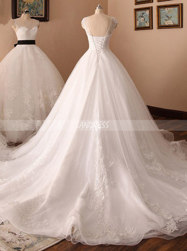 Lace Wedding Dress Corset,Elegant Bridal Dress,11713