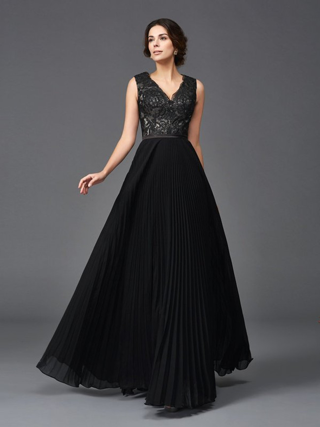 Black Mother of the Bride Dresses,Modest Mother of the Bride Dress,11725