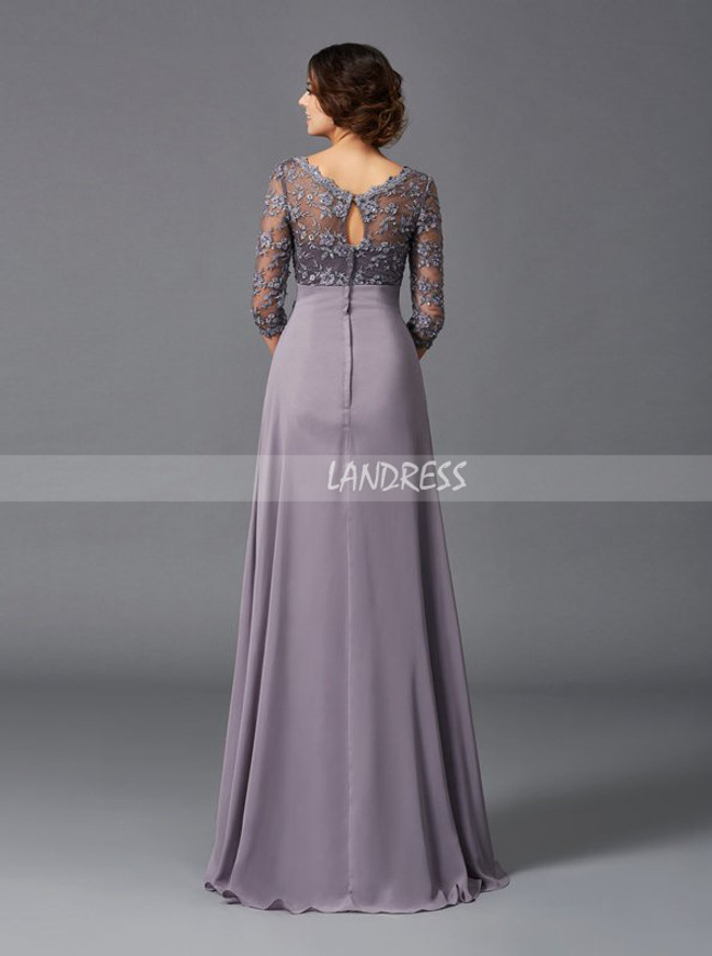 V-neck Mother of the Bride Dresses,Empire Mother of the Bride Dress,11733