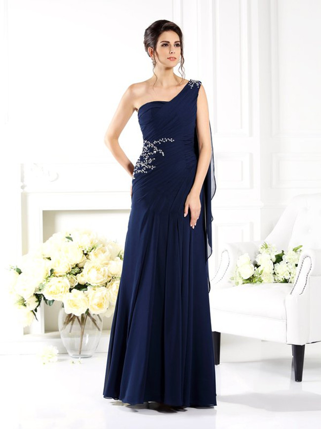 ef2ff05f02d One Shoulder Mother of the Bride Dresses