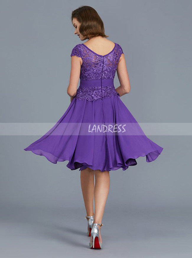 Short Mother of the Bride Dress,A-line Mother Dress,11779