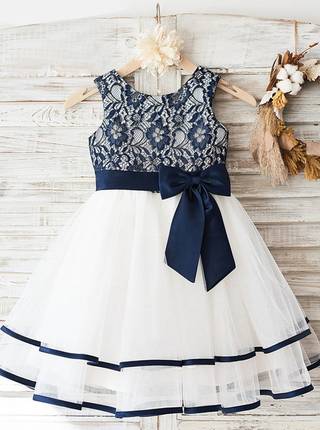A-line Flower Girl Dresses,Birthday Party Dresses,11835