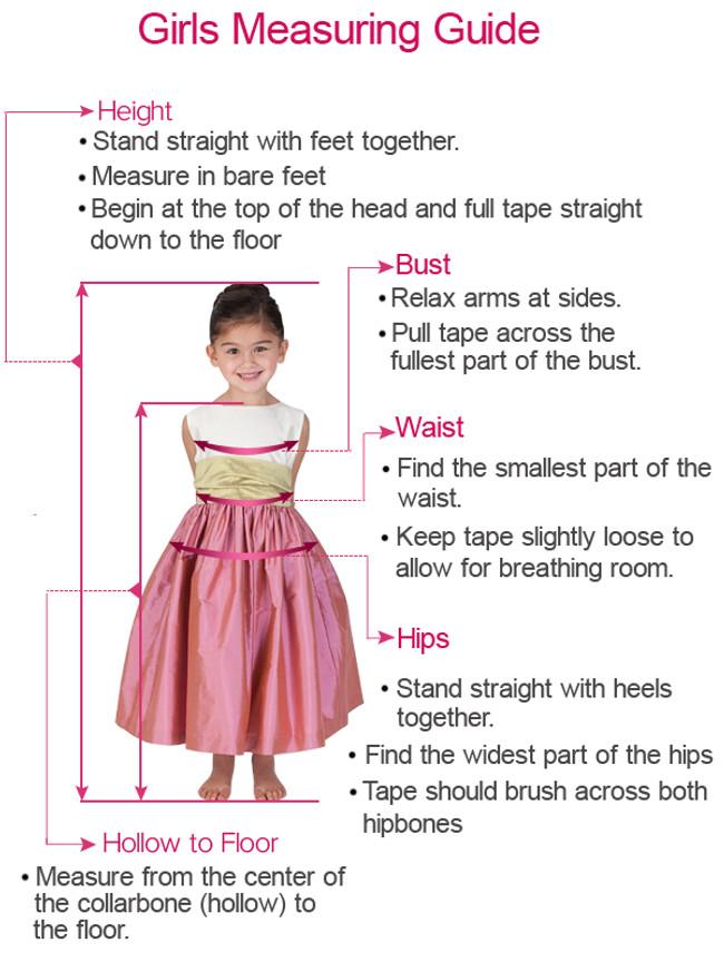 Princess Flower Girl Dress with Sleeves,Simple Flower Girl Dress,11845