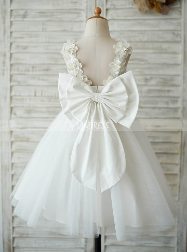 Adorable Flower Girl Dresses,Short Holiday Girl Dress,11854