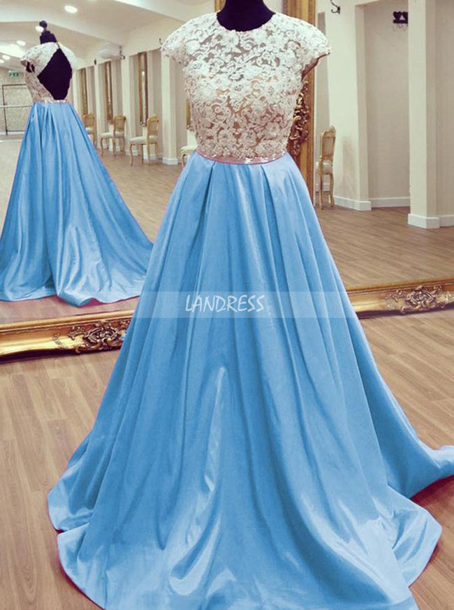 Elegant Prom Dresses for Teens,Backless Prom Dress,11881