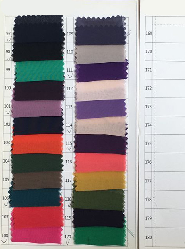 Chiffon Color Swatch