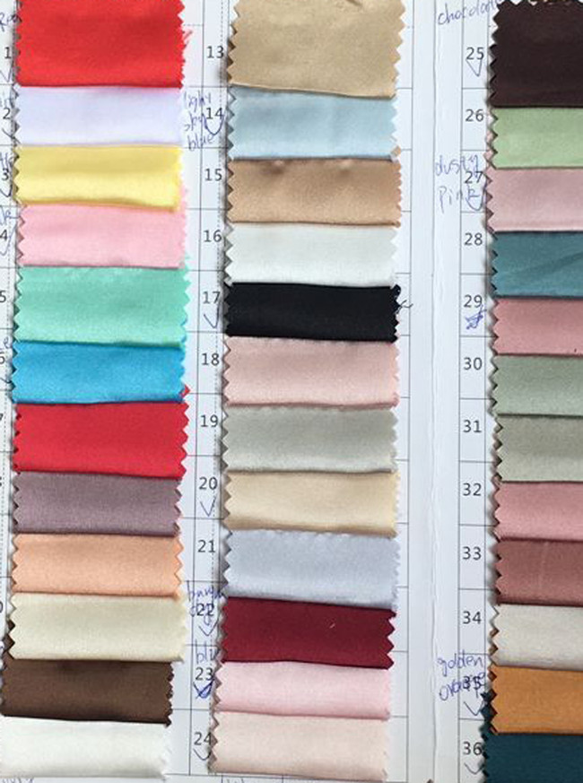 Silk-Like Satin Color Swatch