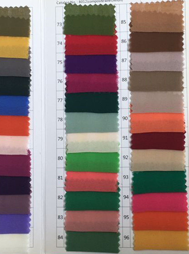 Composite Wire Chiffon Color Swatch