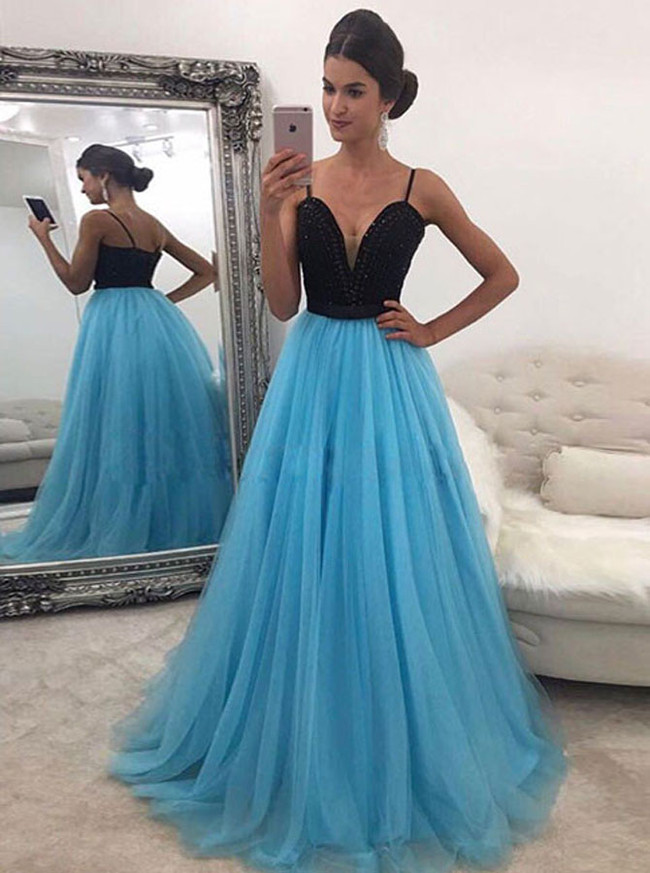 Prom Dress For Teens,Elegant Prom Dresses with Straps,11913
