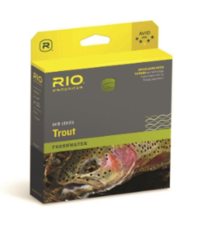 Rio Avid Fly Lines