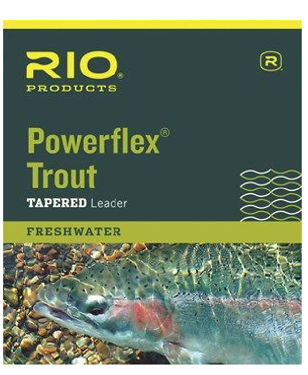 Rio Powerflex Trout Leader 3 Pack