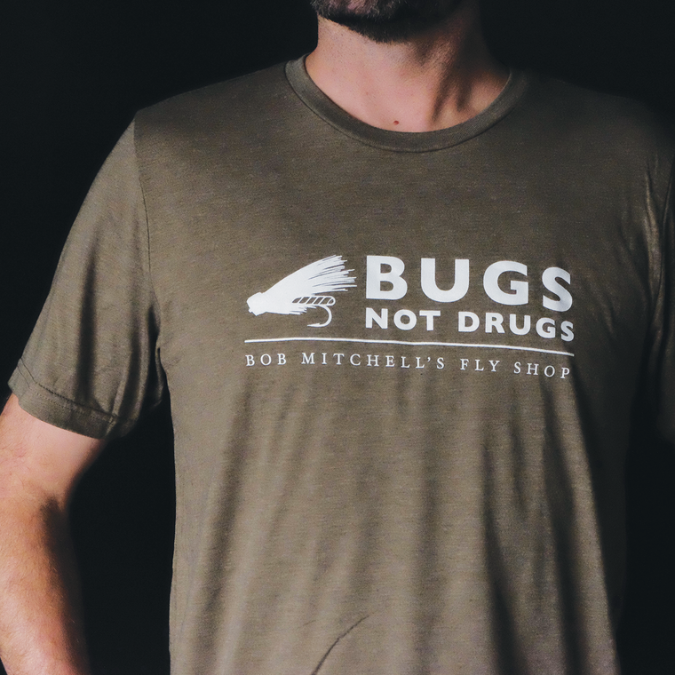 Bugs Not Drugs T Shirt