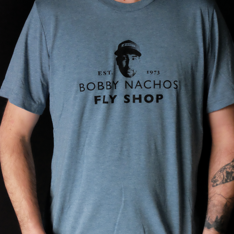 Bobby Nachos Fly Shop T Shirt