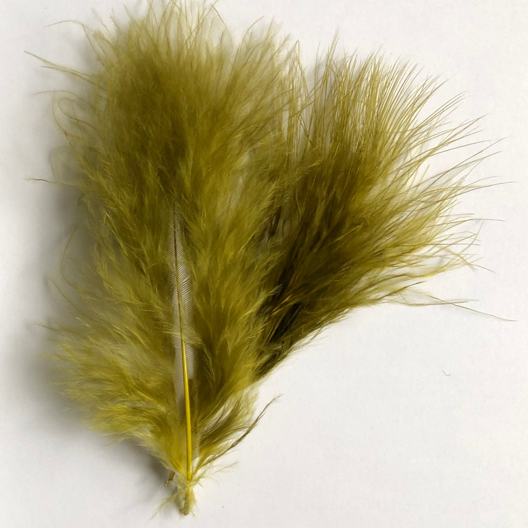 Wooly Bugger Marabou, Olive Green