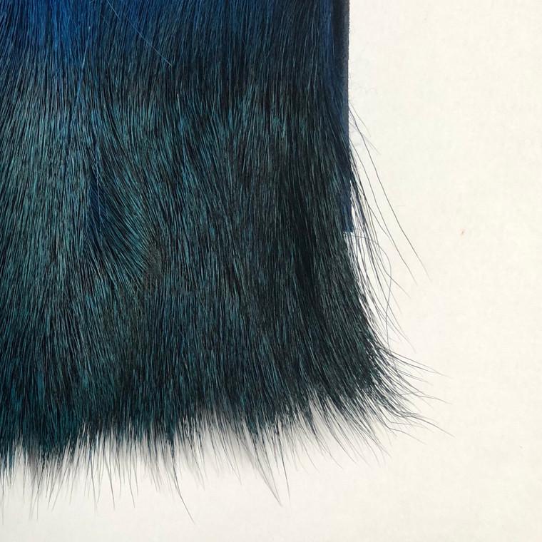 Deer Body Hair, Blue