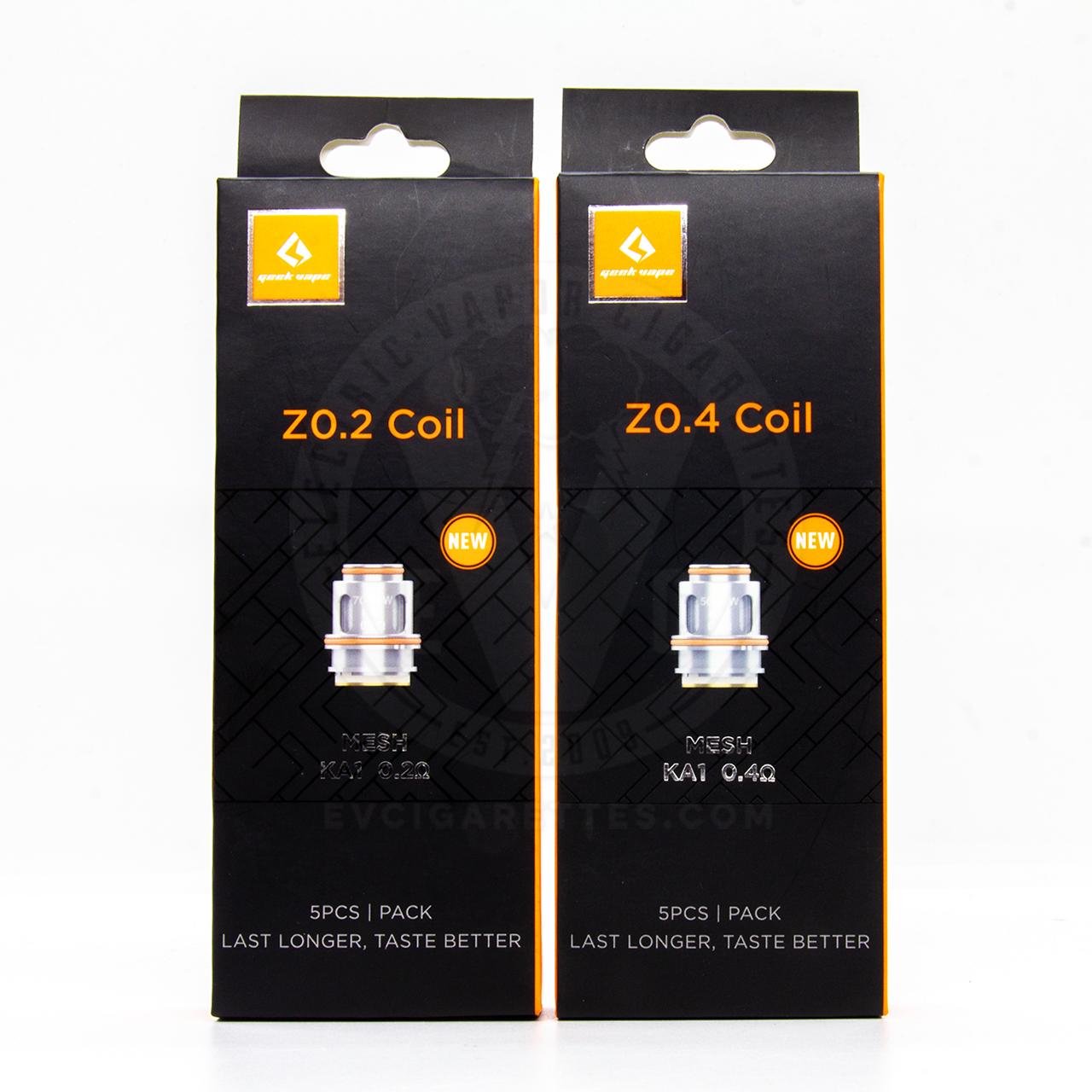 Zeus Mesh Z Coil Replacement (5pc)
