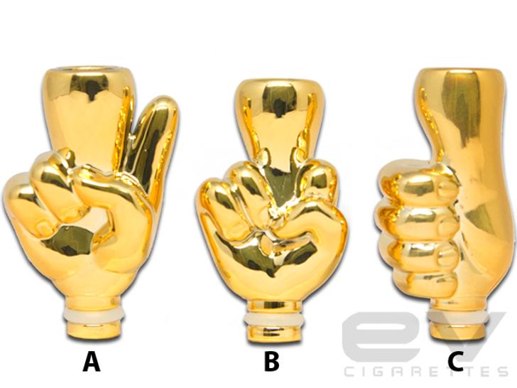 Gold Finger Drip Tip for 510 | 808D-1 | 901