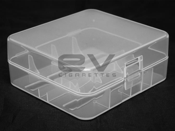 Double 26650 Plastic Battery Case