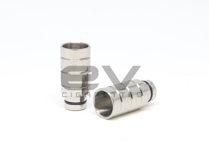 Titanium Wide Bore Barrel Drip Tip for RBAs, 510, 808D-1, 808, 901
