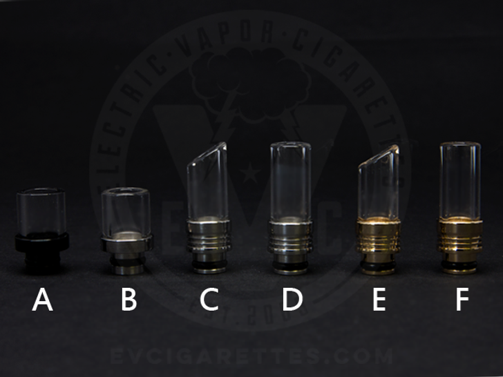 Glass Fusion Drip Tips for RBAs / 510 / 808D-1 / 901
