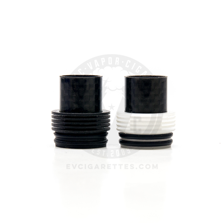 Carbon Fiber Chuff Heatsink Top Cap (Double O-Ring)
