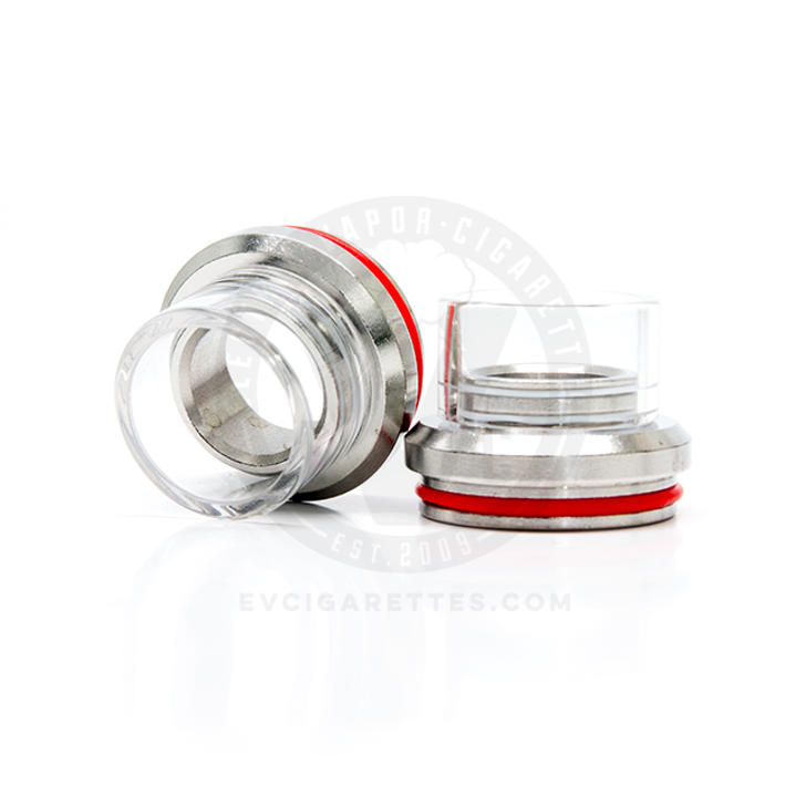 Glass Chuff Enuff Heatsink Styled Top Cap - 28mm