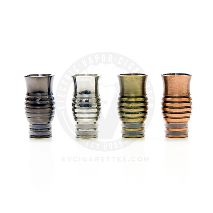 Metal Wide Bore 510 Drip Tip Mouthpiece - Type C