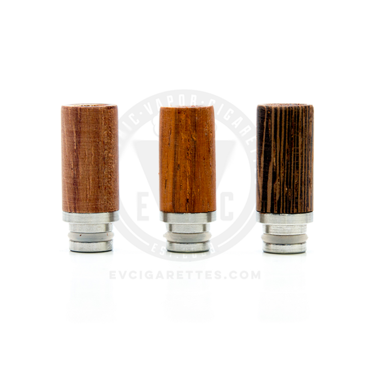 Wood & Stainless Steel 510 Drip Tip Mouthpiece