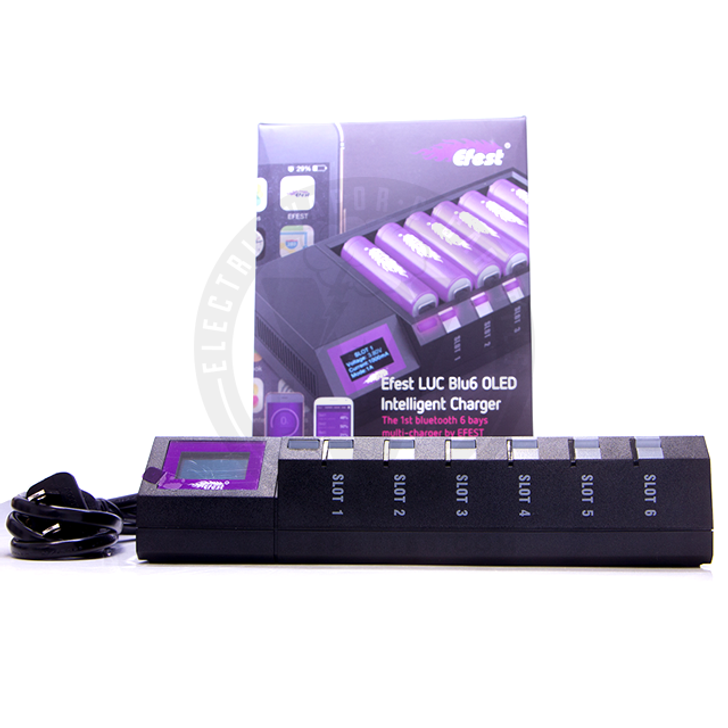 Efest LUC Blu6 Bluetooth Intelligent 6-Bay Charger