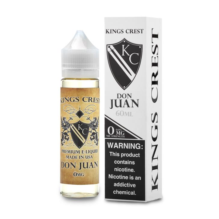 King's Crest E-Liquid - Don Juan