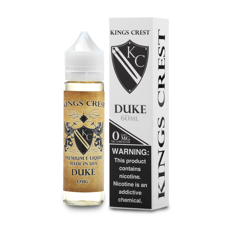 King's Crest E-Liquid - Duke