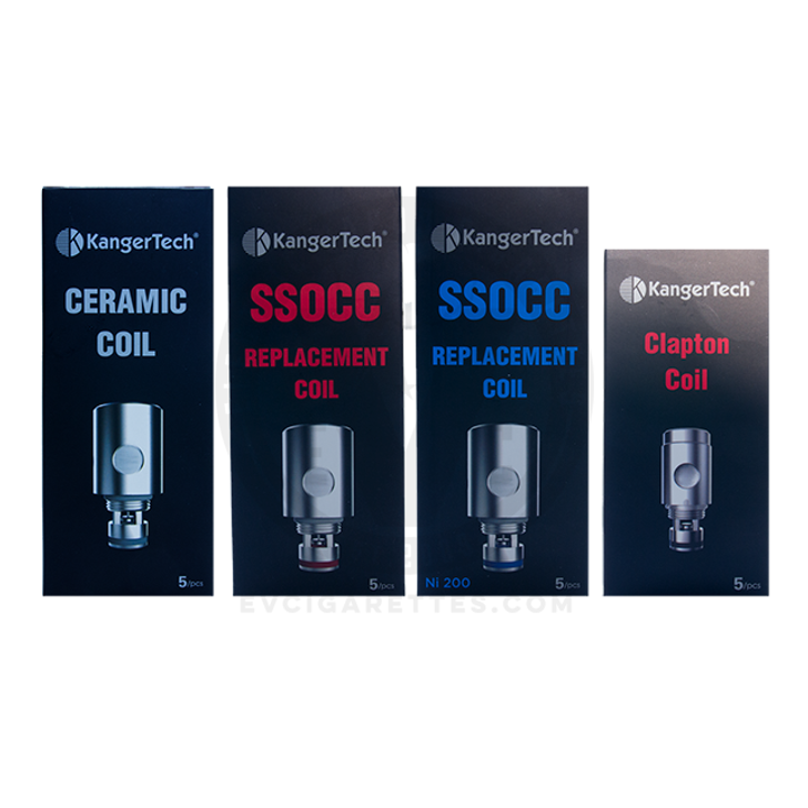 Kanger SSOCC V2 (Subvod / Top Tank / Nebox / Subtank) Coil Head Replacement (5pc)