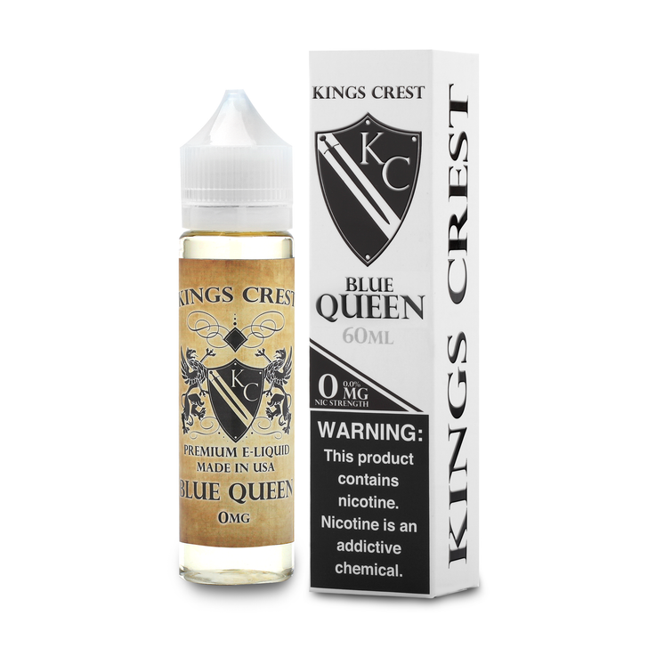 King's Crest E-Liquid - Blue Queen