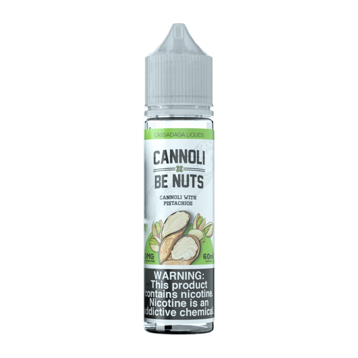 Cassadaga Liquids E-Liquid - Cannoli Be Nuts
