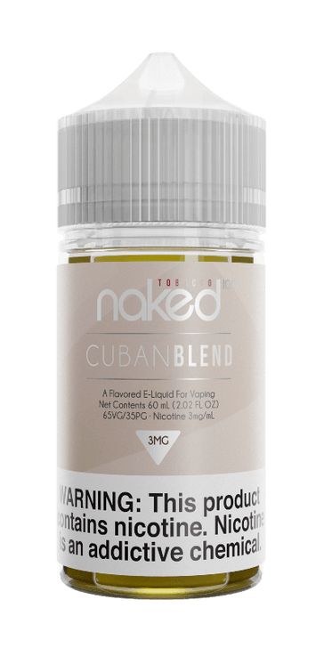 Naked 100 Tobacco E-Liquid - Cuban Blend