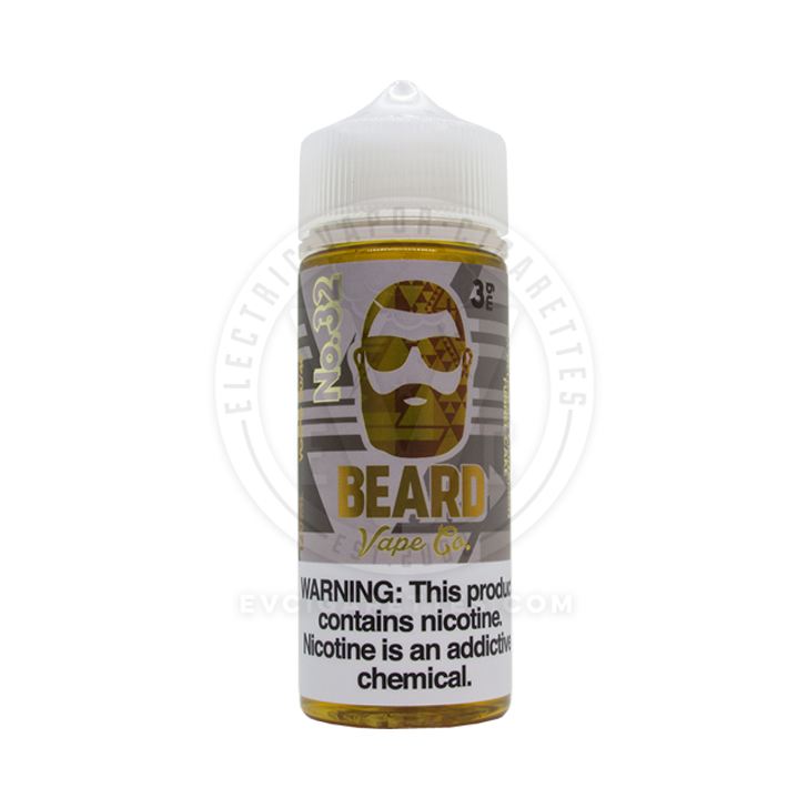 Beard Vape Co E-Liquid - No. 32 (Cinnamon Funnel Cake)