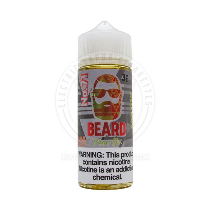Beard Vape Co E-Liquid - No. 71 (Sweet & Sour Sugar Peach)