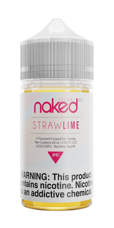 Naked 100 Fusion E-Liquid - Straw Lime