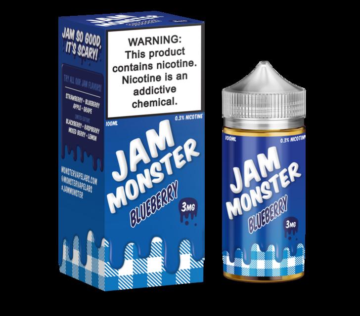 Jam Monster E-Liquid - Blueberry Jam