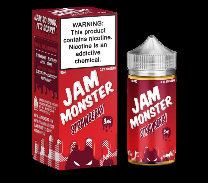 Jam Monster E-Liquid - Strawberry Jam