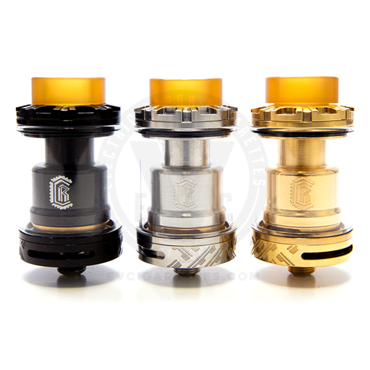 With a chassis of either brass or stainless steel in a matte black or bare finish, you're sure to find a Reload RTA you'll love.