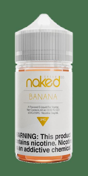 Naked 100 Cream E-Liquid - Banana