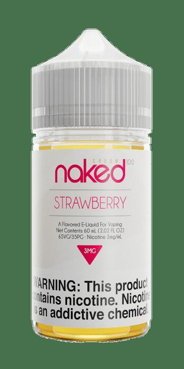 Naked 100 Cream E-Liquid - Strawberry
