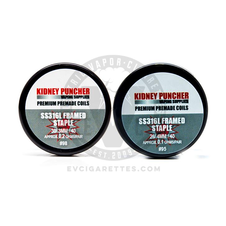 Kidney Puncher Premade SS316L Staple & Framed Staple Coils
