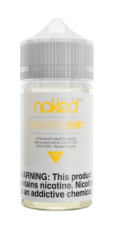 Naked 100 Cream E-Liquid - Pineapple Berry
