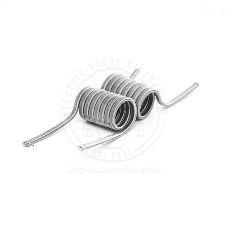 Kidney Puncher Premade SS316L Fused Clapton Coils