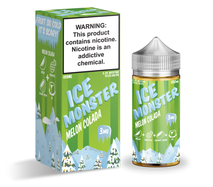 Ice Monster E-Liquid - Melon Colada